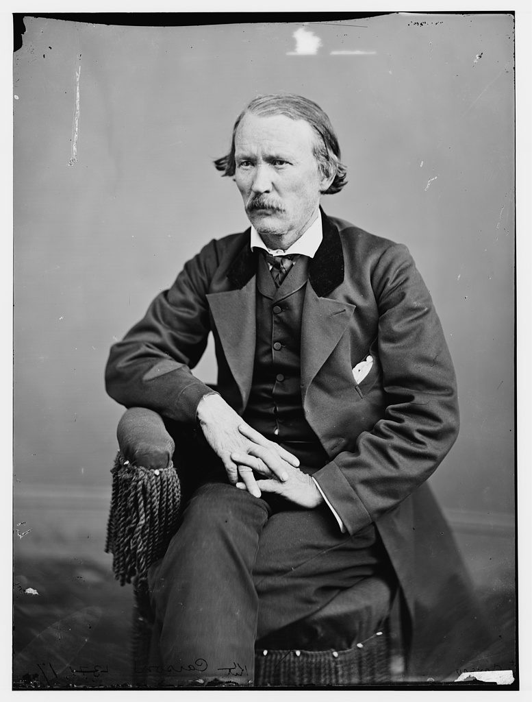 Christopher Kit Carson [Between 1860 and 1875] Photograph. Retrieved from the Library of Congress.