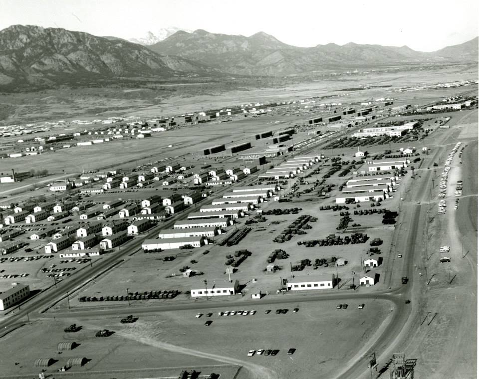 Camp Carson in the 1940's, no date, no publication, http://mountainposthistoricalcenter.org/the-history-of-fort-carson/