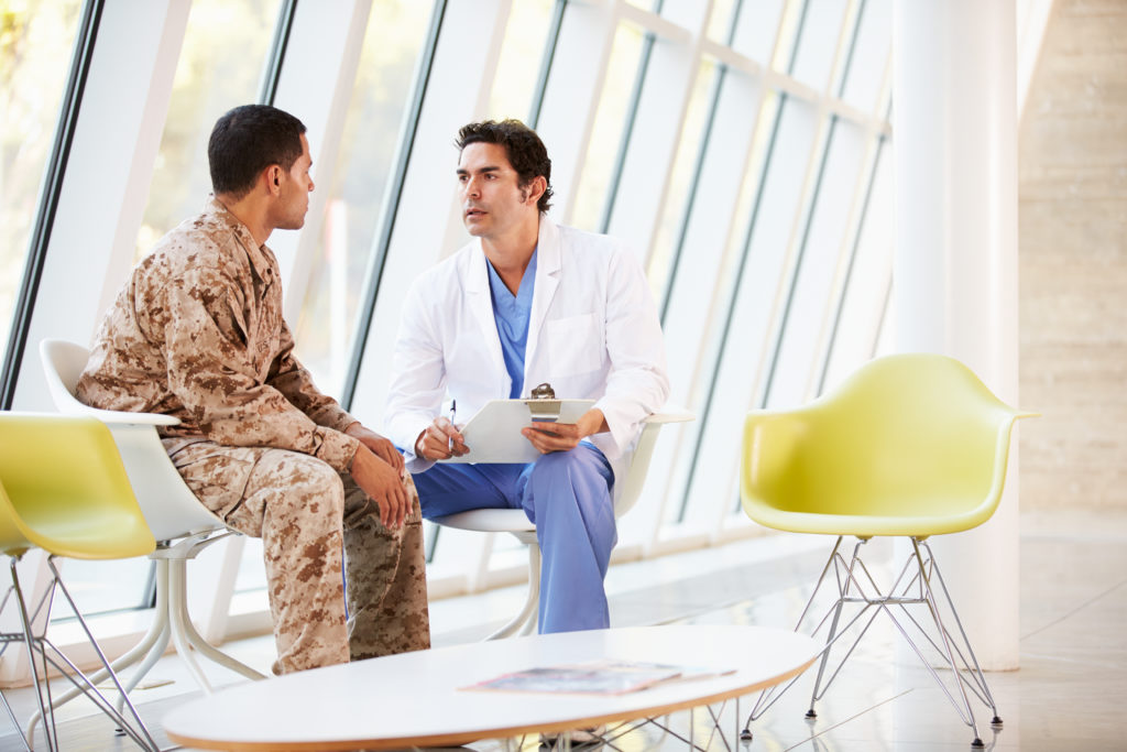 Servicemember being advised that the Medical Retention Determination Point, or MRDP, before the MEB process will be initiated.