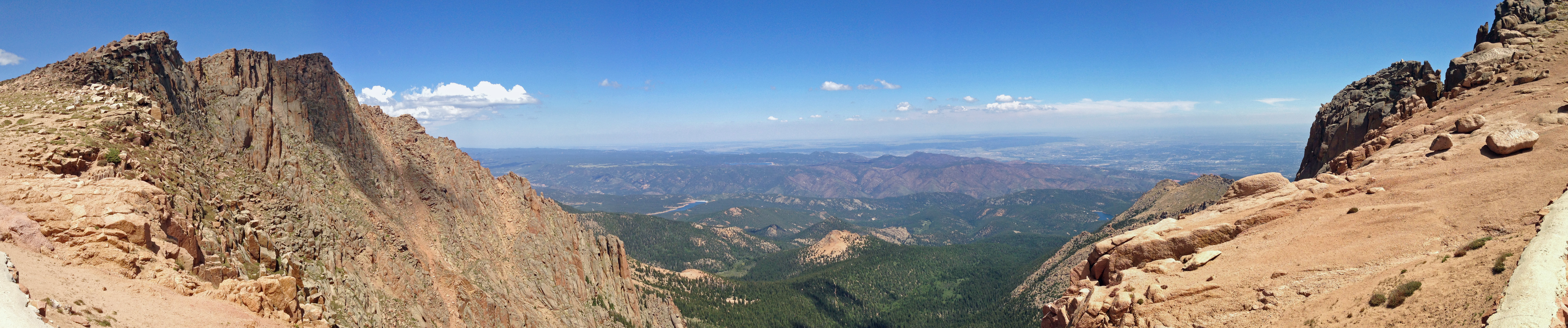 Amazing view from Pikes Peak.