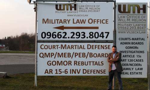 Will M  Helixon - Military Lawyer - Court-Martial Defense Lawyer